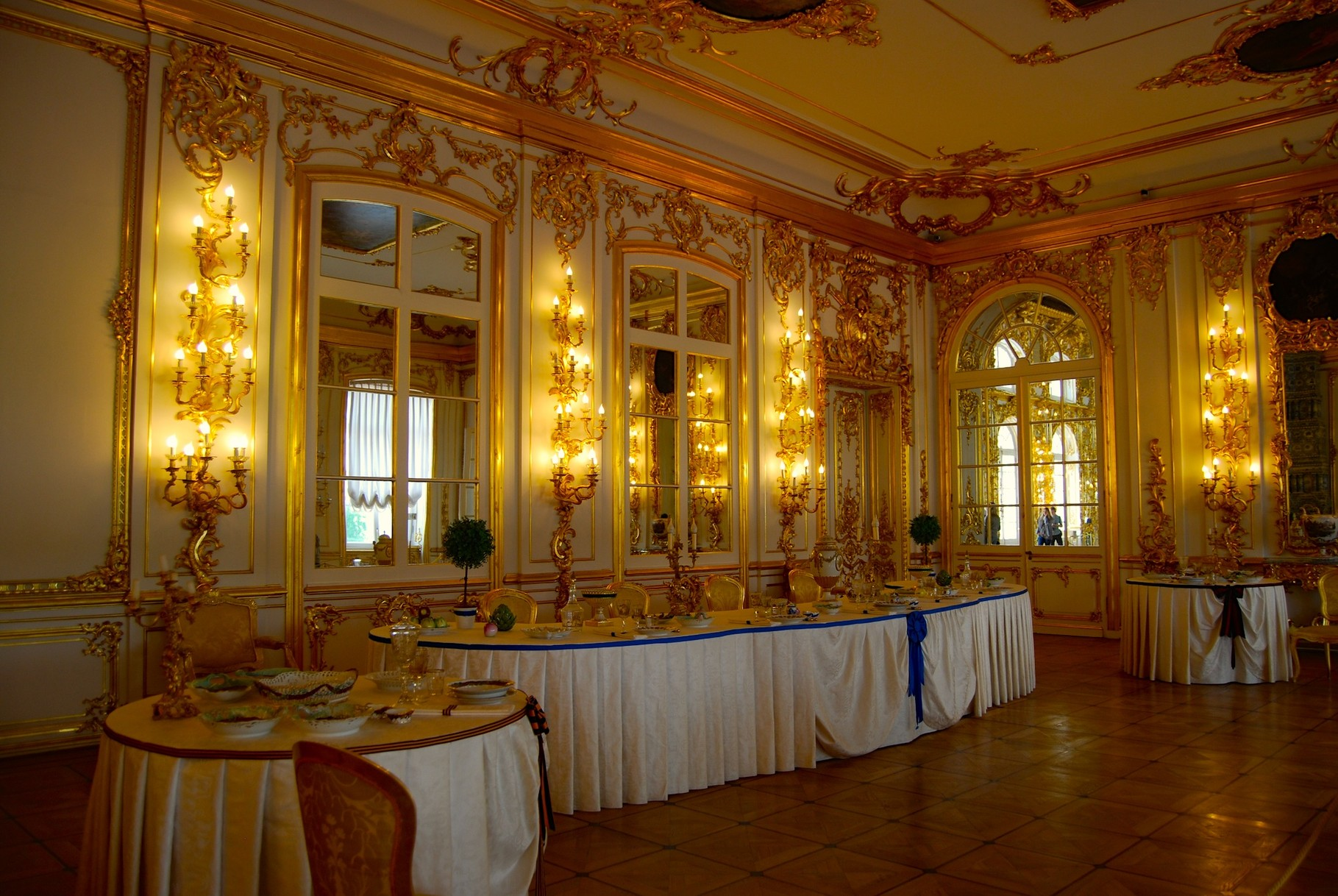 Zimmer im Ekaterinenpalast in Pushkin