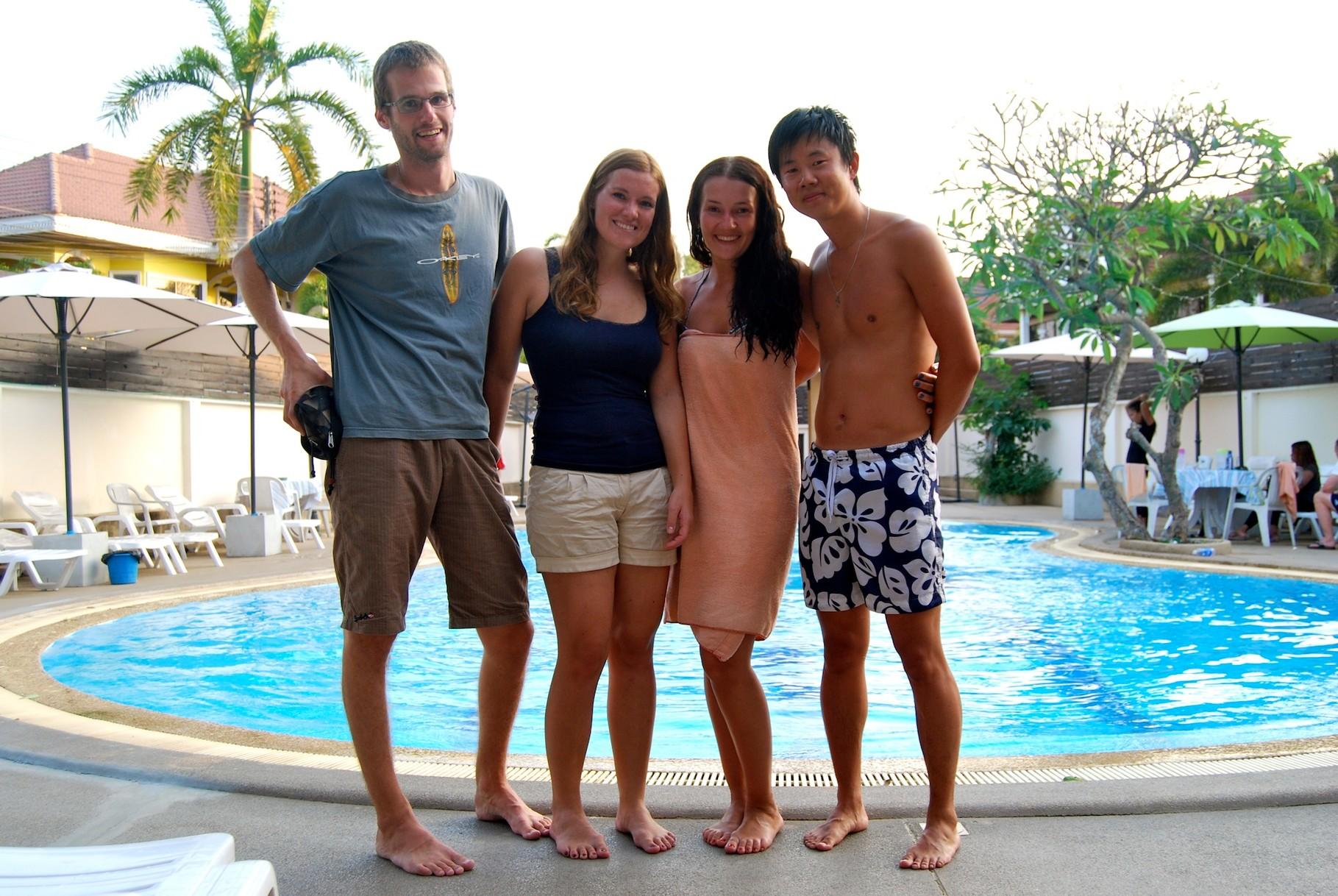 Treffen mit Nika und Vova in Pattaya