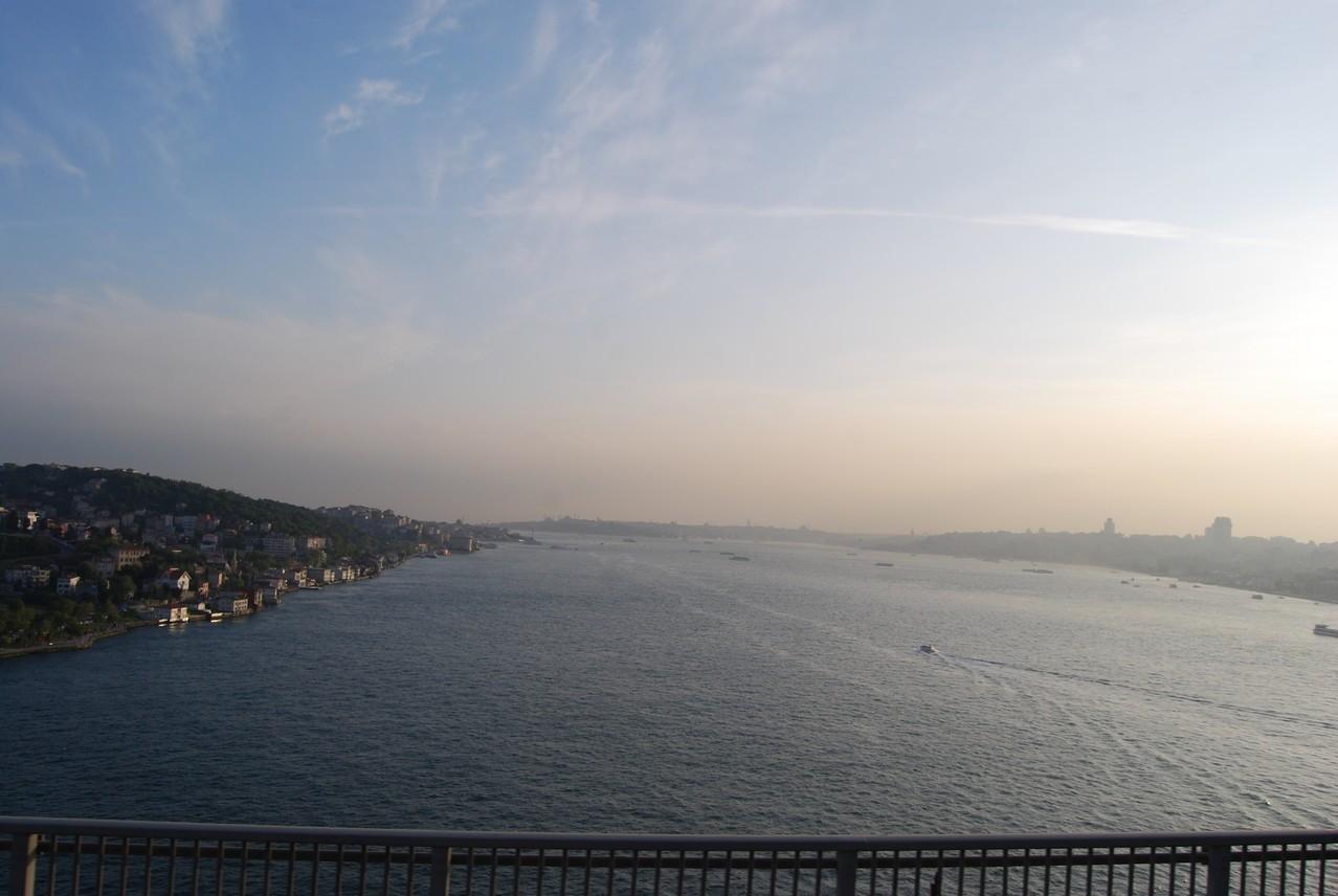 Über dem Bosporus