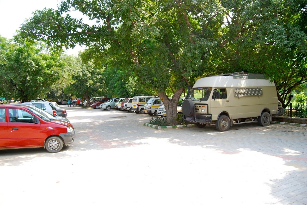 Stellplatz in Delhi