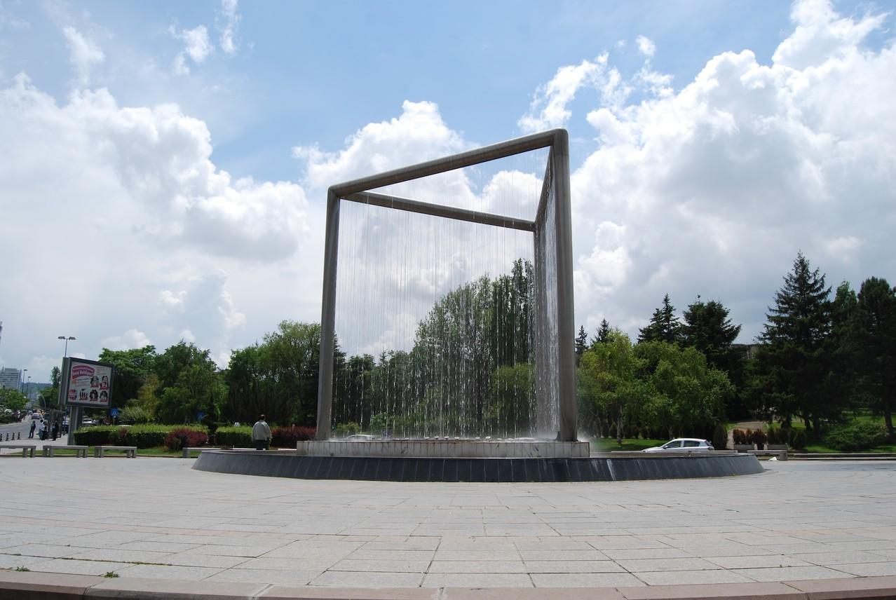 Brunnen am Atatürk-Platz