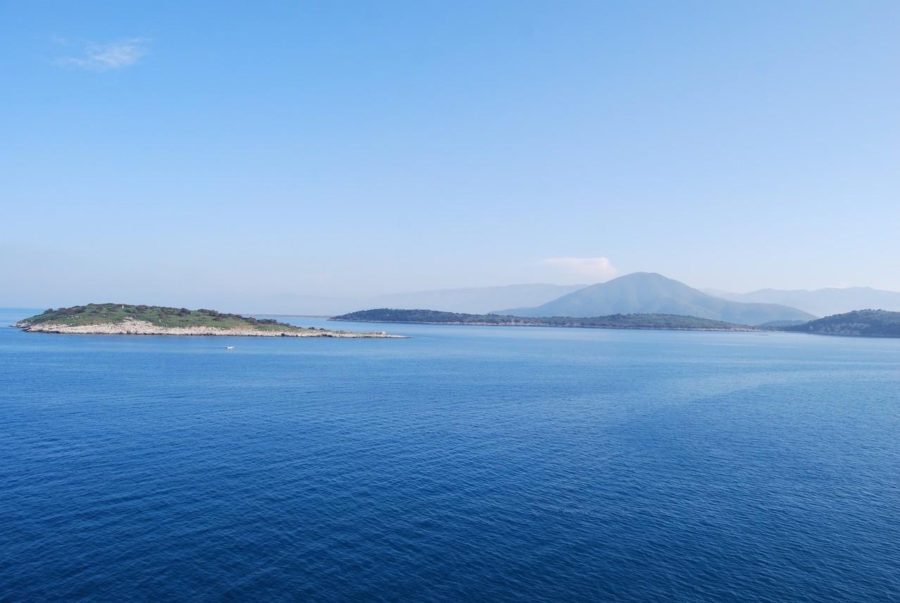 Die wunderschöne Küste kurz vor Igoumenitsa