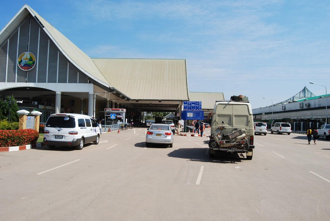 Grenzabfertigung Laos