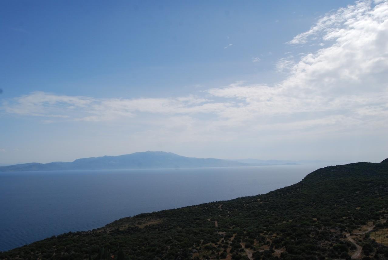 Blick von der Türkei nach Griechenland (Levos)