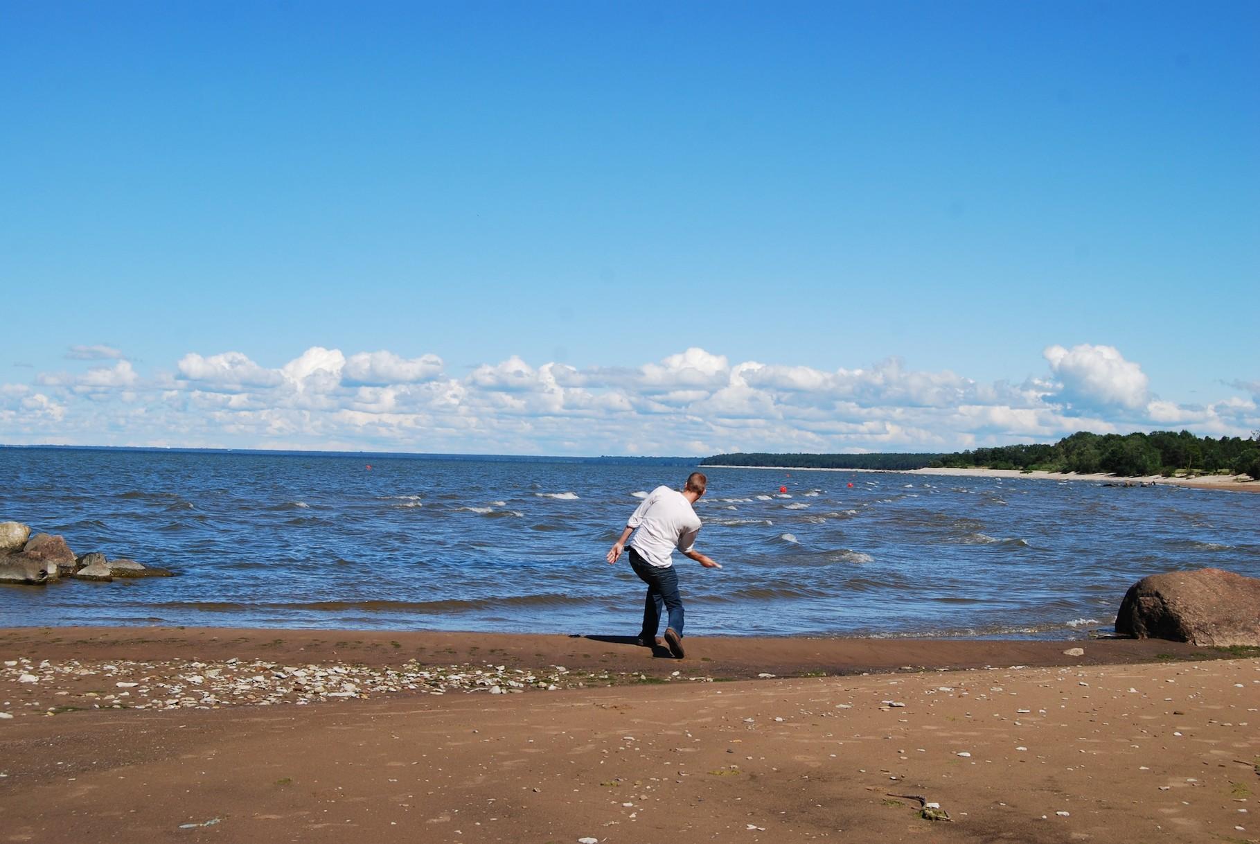 Wir sind an der Ostsee