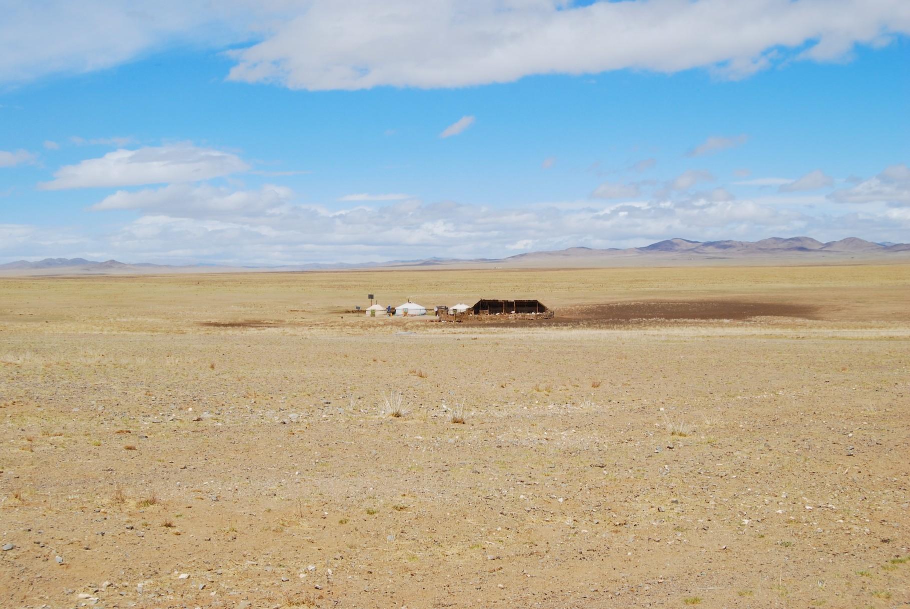 Ein klassisches mongolisches Haus