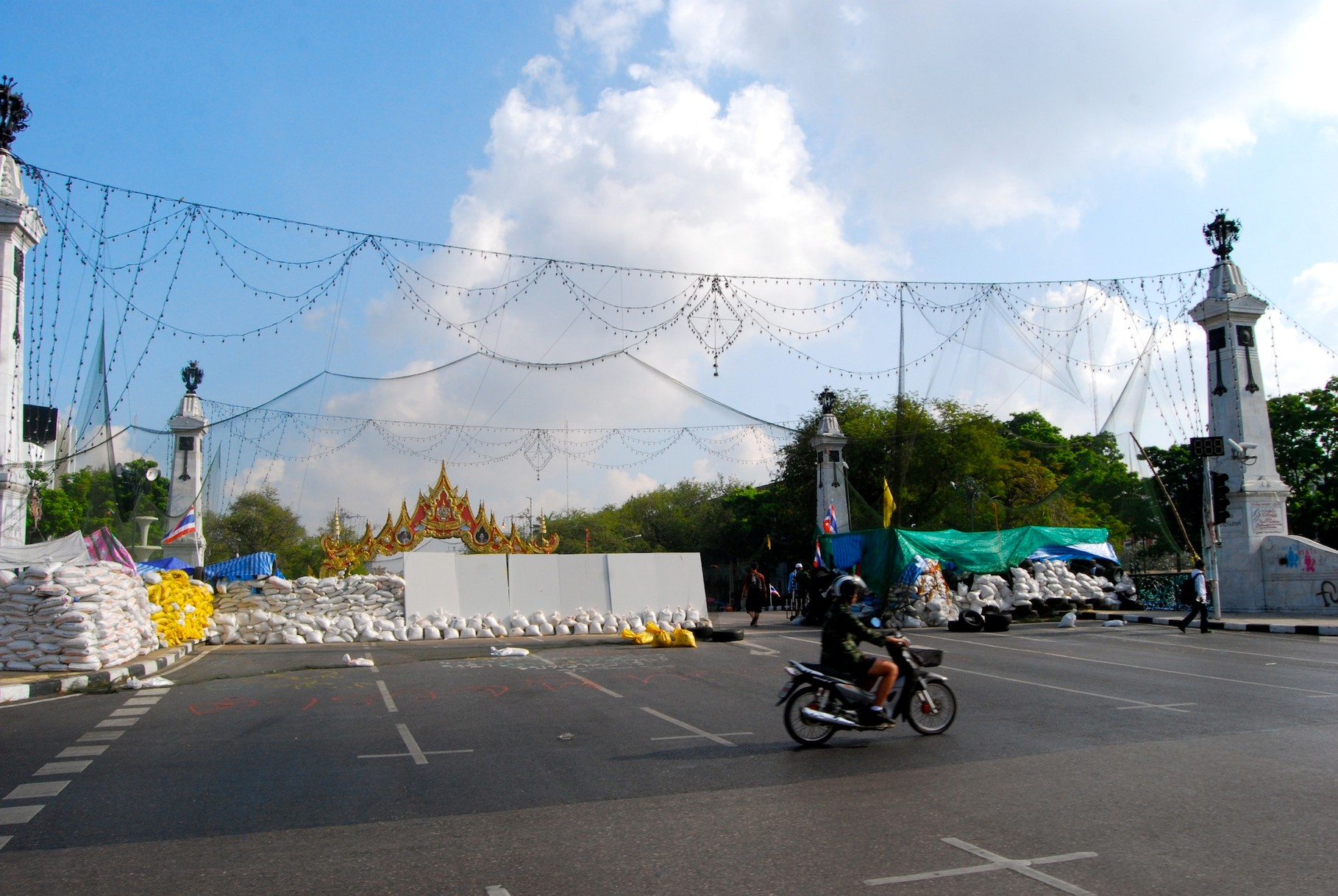 Proteste in Bangkok - Si Phitsanolouk