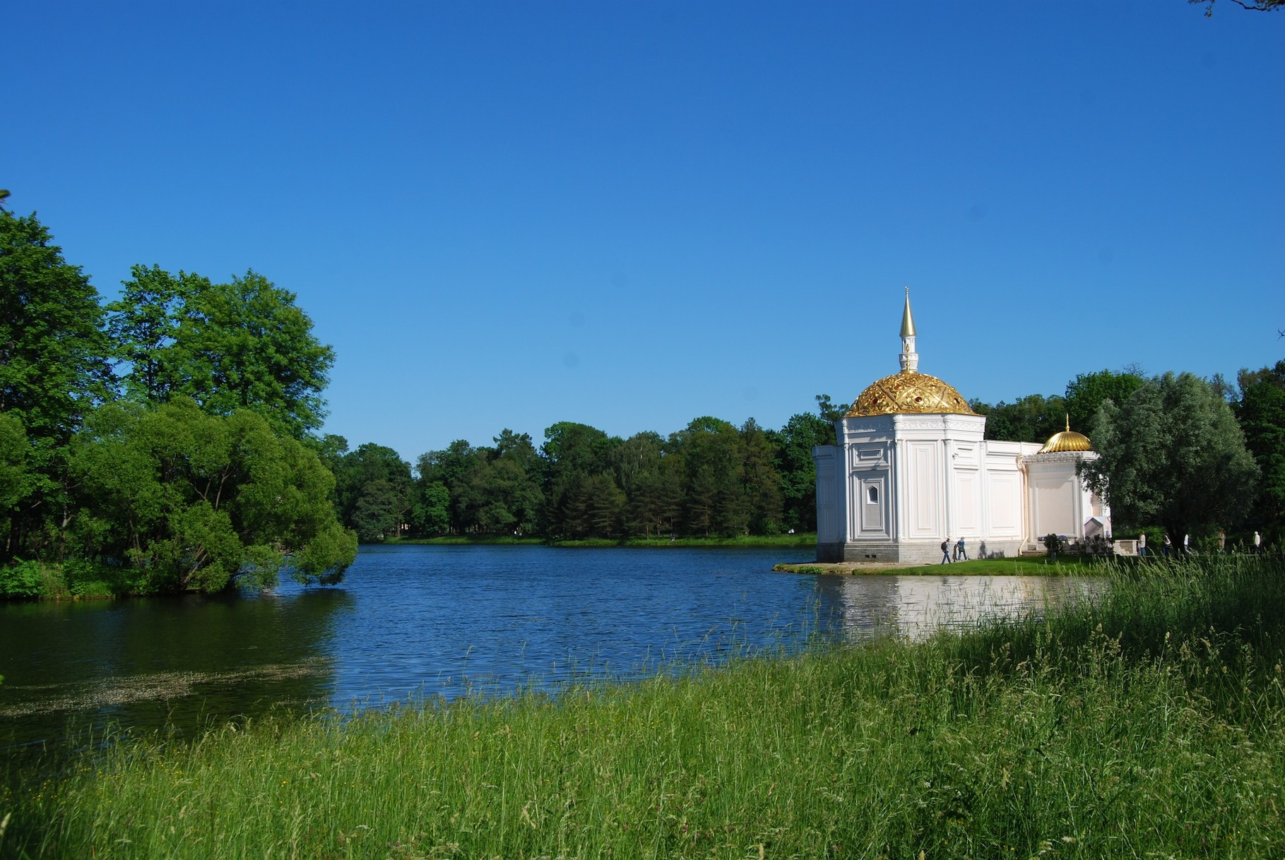 Moschee im Ekaterinenpalast in Pushkin