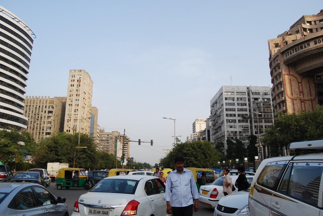 Delhi am Spätnachmittag
