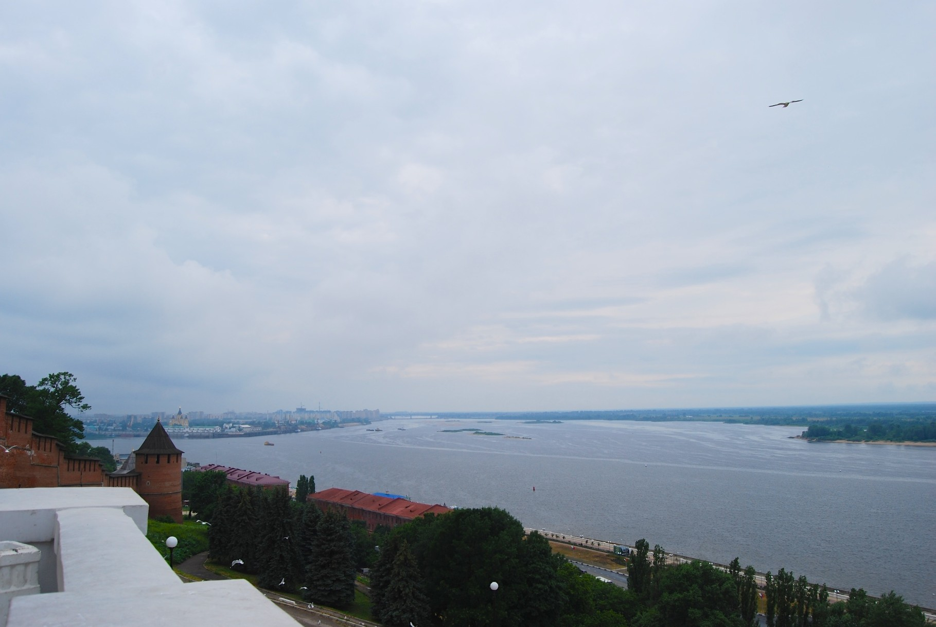 Blick auf die Wolga (Nizhny Novgorod)