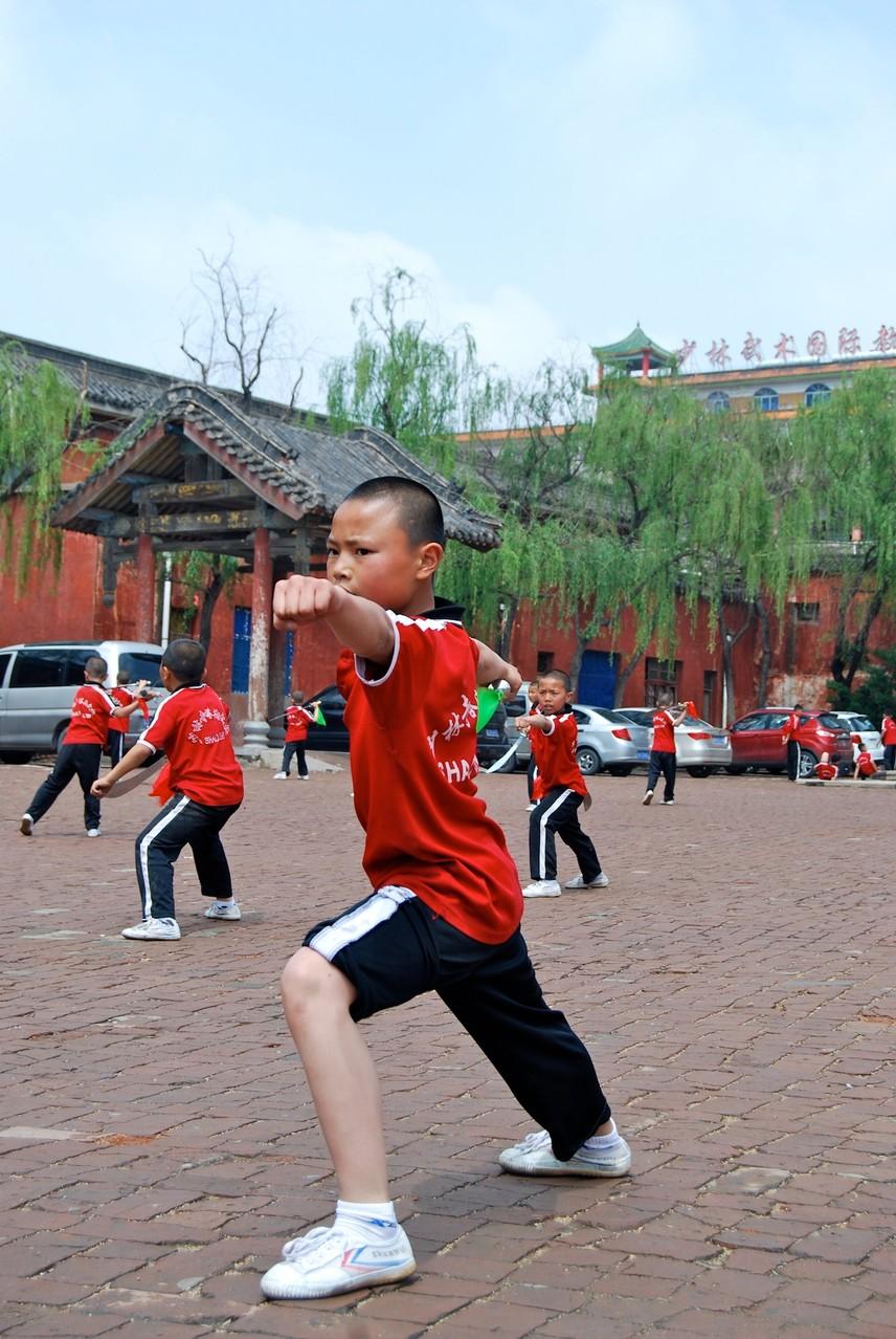 Ein junger Shaolin-Schüler