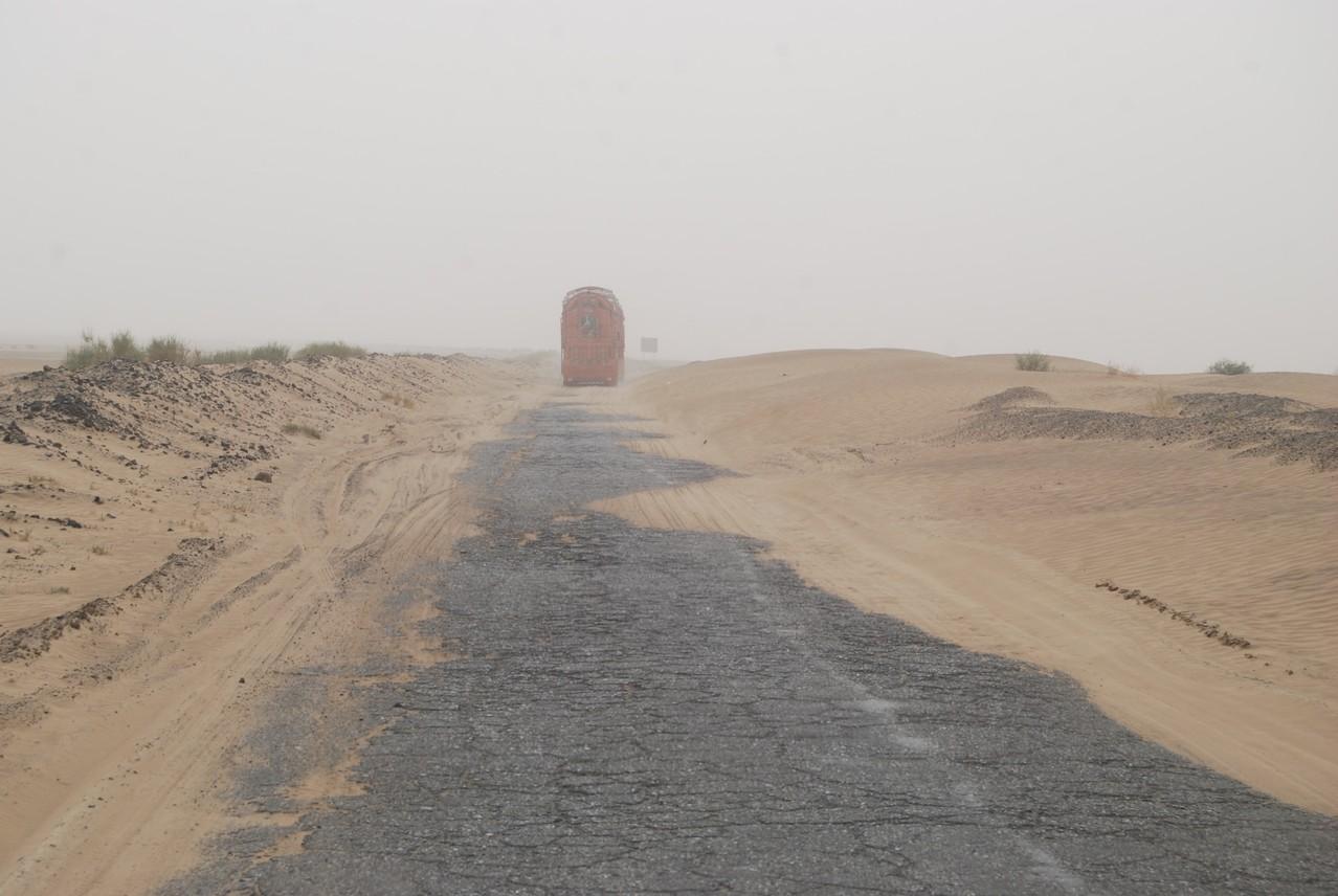 Ab durch den Sand