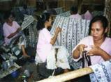 YogyakartaのBatik工房