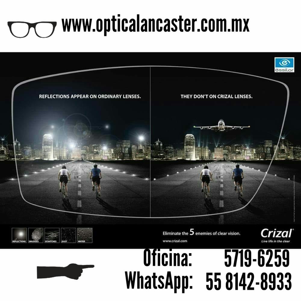 Tenemos toda la familia de lentes  CRIZAL UV ® a un costo verdaderamente  bajo ya que somos CRIZAL STORE con proceso de montaje totalmente  digitalizado lo ... c4fcb0e911