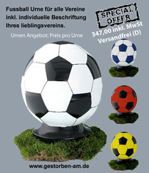 Fussball Urne special offer