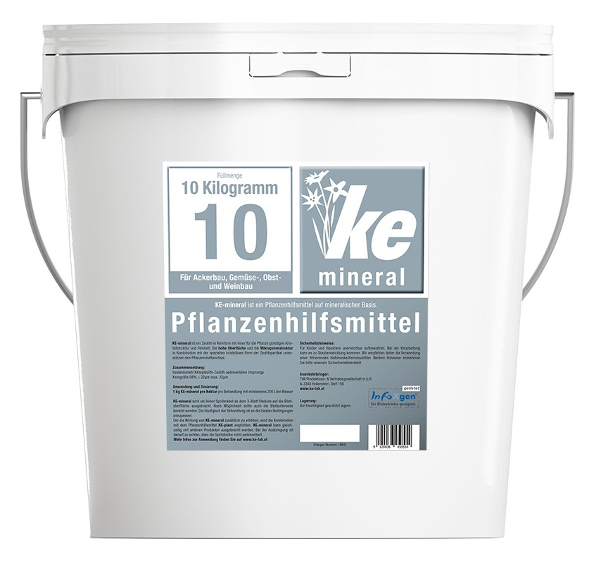 KE-mineral in 10 kg bucket