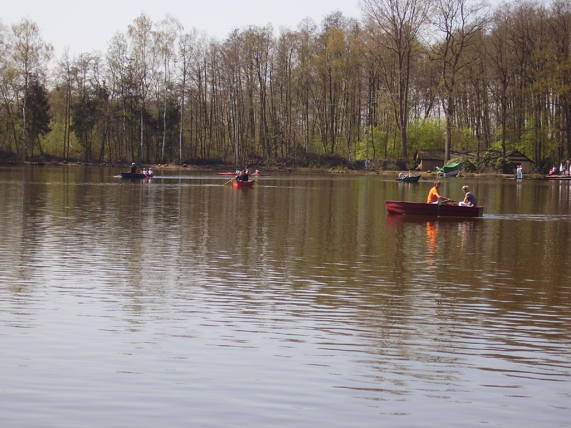 Seebote auf dem Hücker Moor