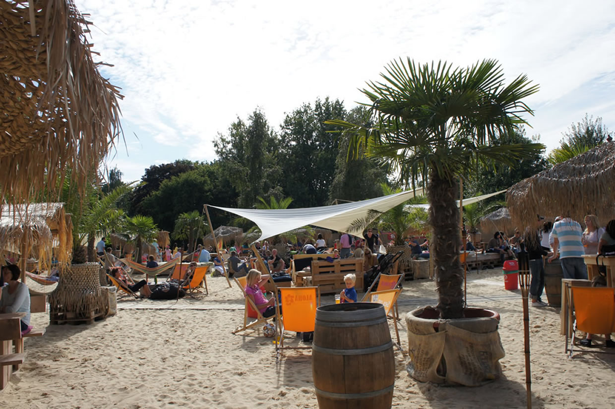 Der Aloha Beach Club in Herford