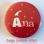 Badge hotte à cadeaux