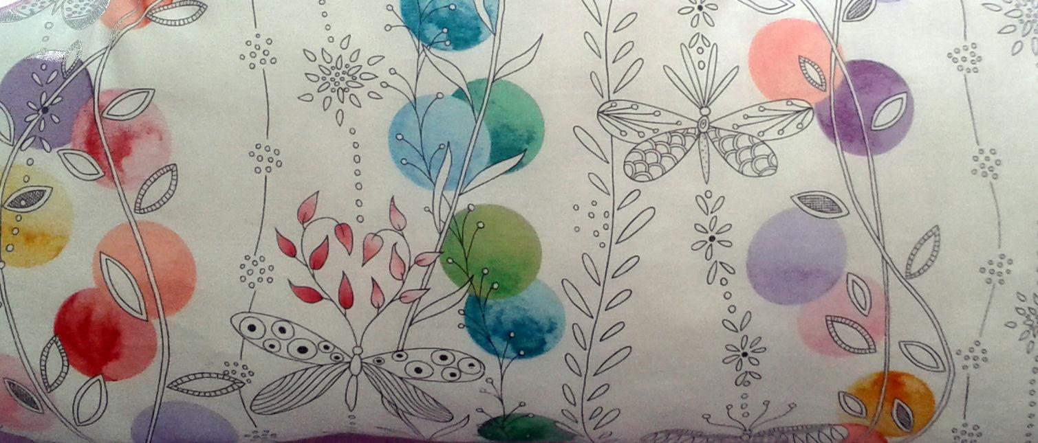 Aquarelle et papillons