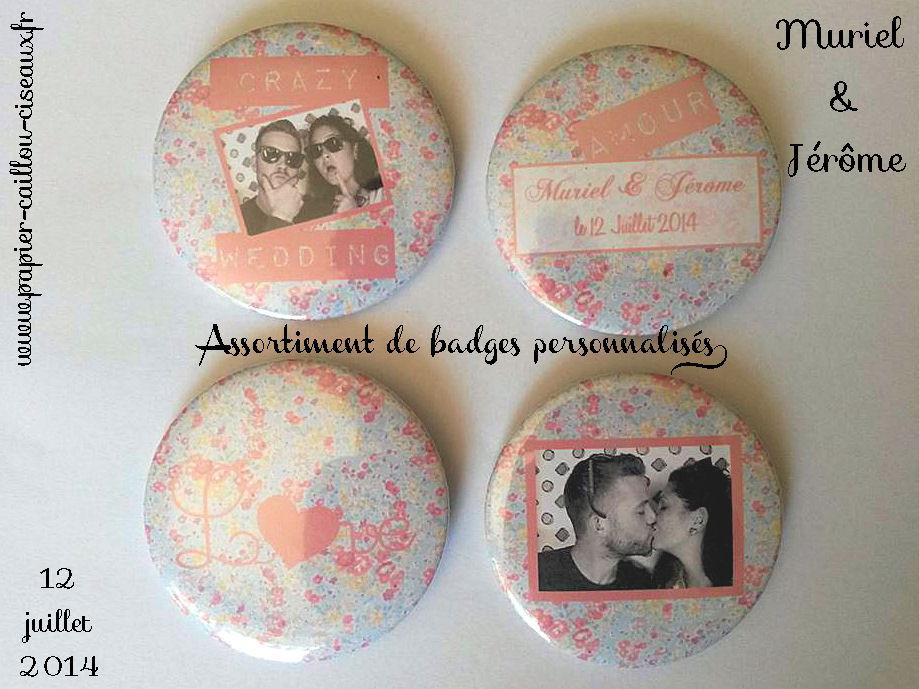 Pack cadeaux invités mariage personnalisés