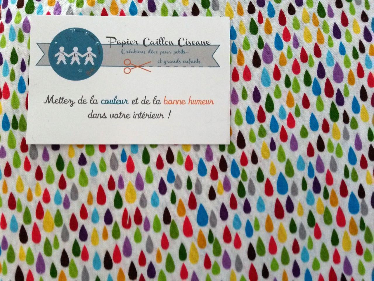 Gouttes multicolores 2