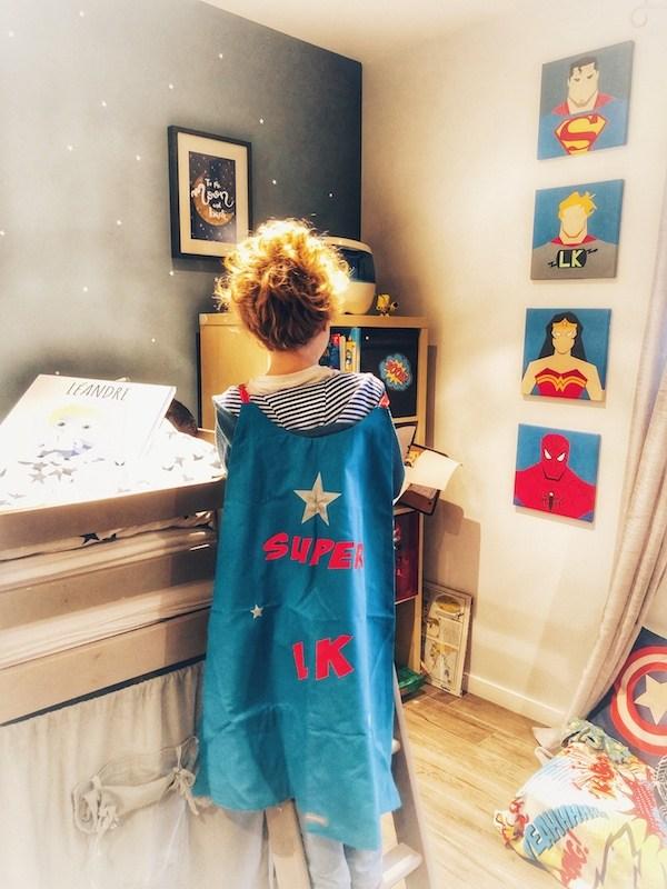 Cape de super héros