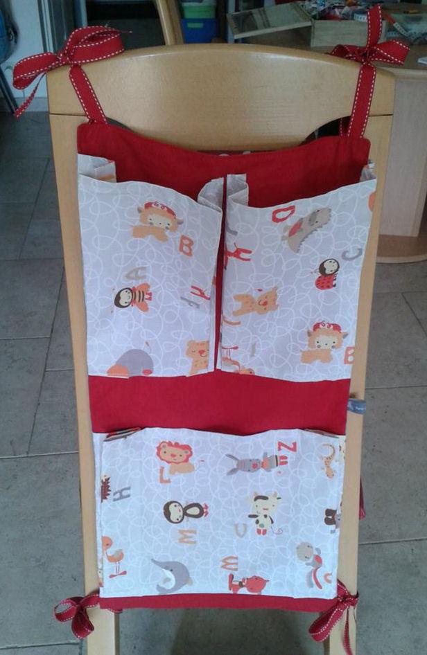 Rangement pour serviettes de table/bavoirs