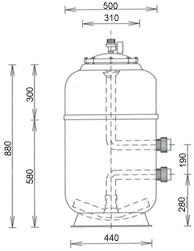 Starline Filter Durchmesser 500