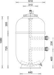 Starline Filter Durchmesser 610
