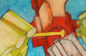 """anstoß"" / Detail / 2015 / Carla Graupe"