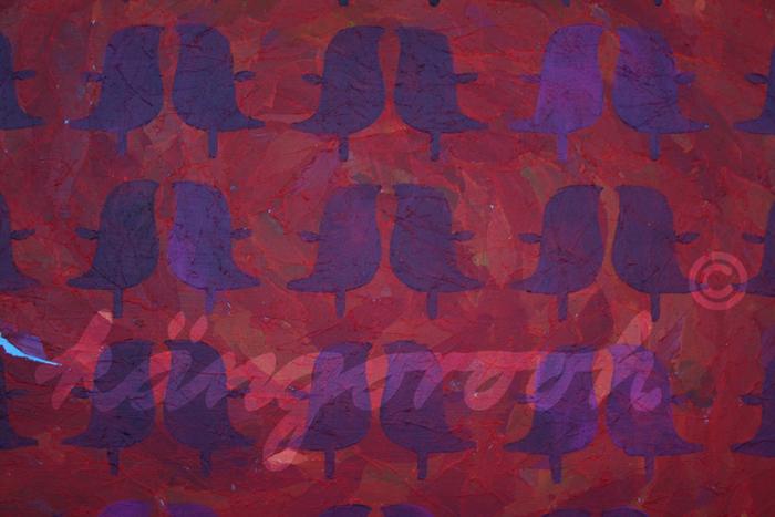 """redbirds"" / Detail 2 / 2016 / Carla Graupe /"