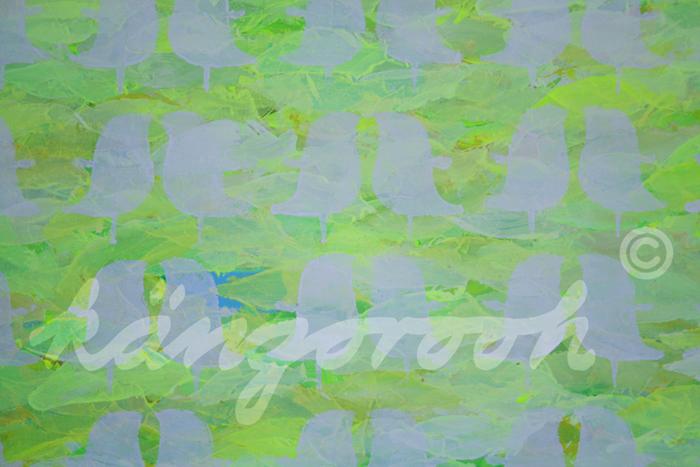 """""""vogelschwarm"""" / Detail 1 / 2016 / Carla Graupe /"""