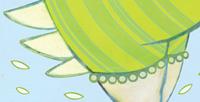 "Postkarte: ""engelin"" / Detail"