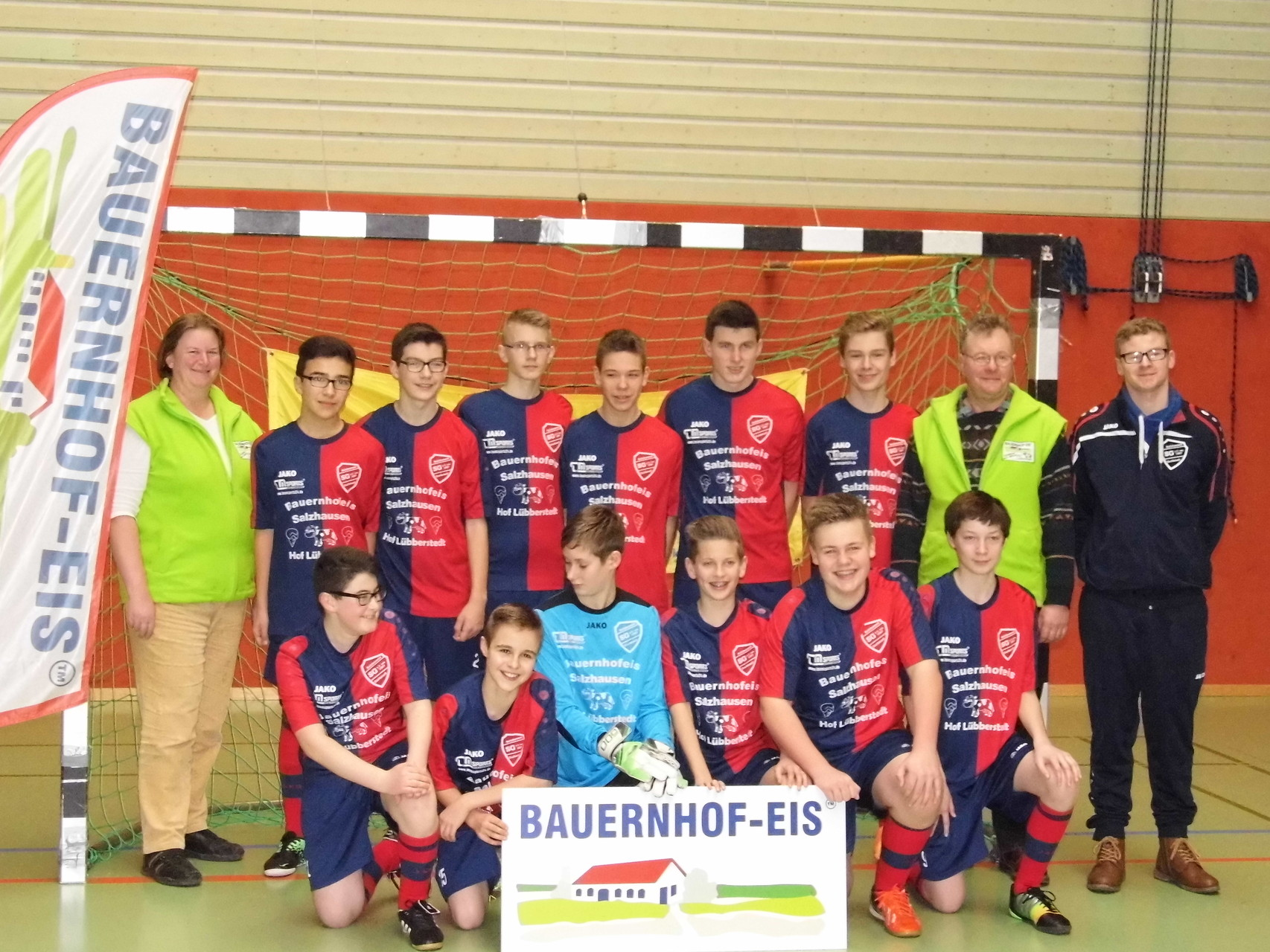Unser Trikot-Sponsoring für die Fußballmannschaft Salzhausen/Garlstorf