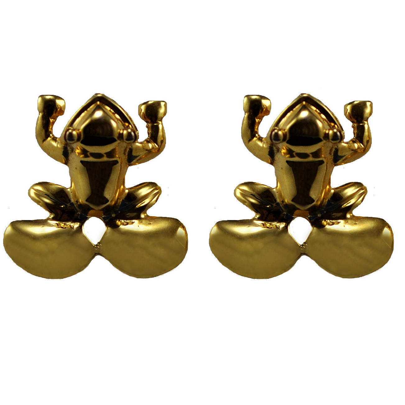Pre Columbian Frog earrings