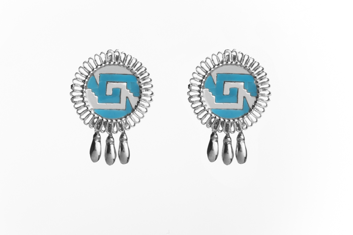 Chimalli with bells earrings
