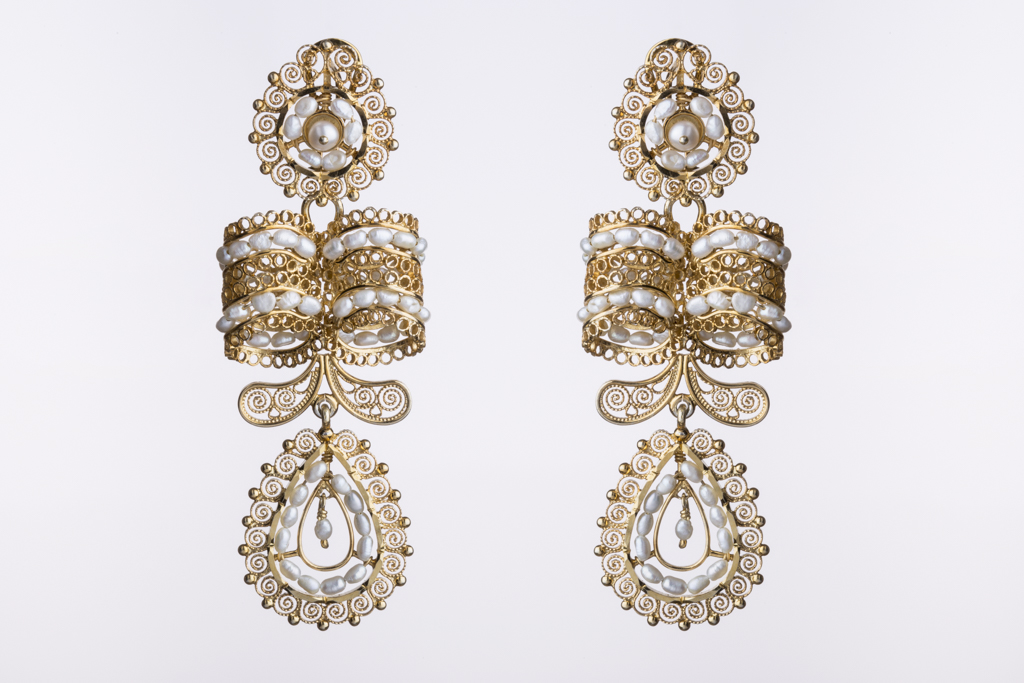 Del Jardín earrings