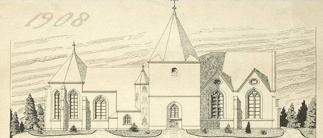 Zeichnung von Heinrich Reinert Senior
