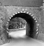 Eisenbahnbrücke zwischen Reken-Bahnhof und Klein Reken in NRW, erbaut um 1880