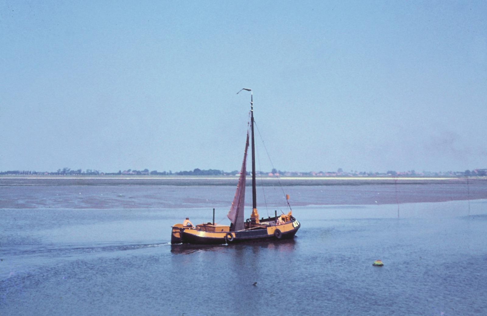 30-06-1961 Binnenvarende vissersboot BZ 31