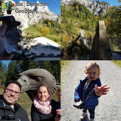 Die Blümchen Cachen in Berchtesgaden