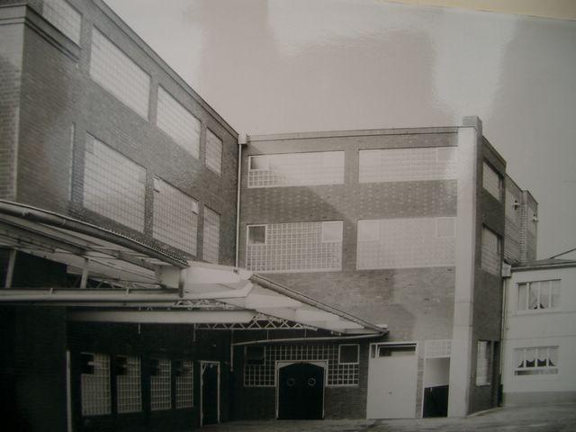 Fertiges Produktionsgebäude 1968