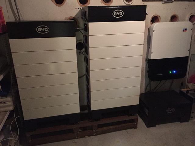 Installation meines Sunny Boy Storage Multistring Batteriespeichers mit BYD B-Box HV
