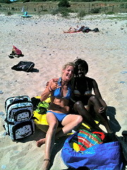 kitesurfing in tarifa and chilling ;)