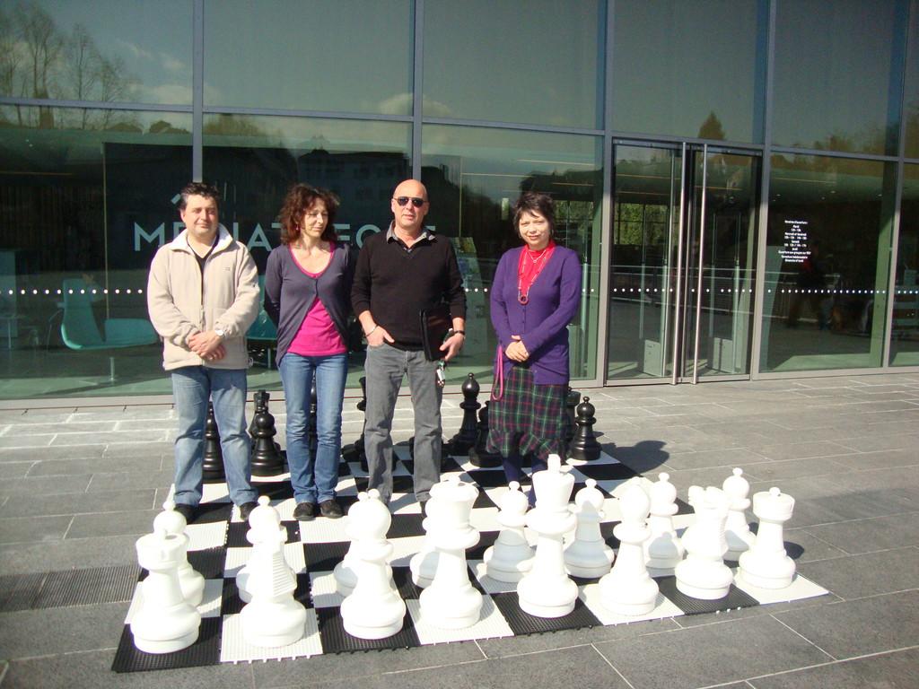 La Médiathèque d'Oloron ouvre ses portes aux échecs !