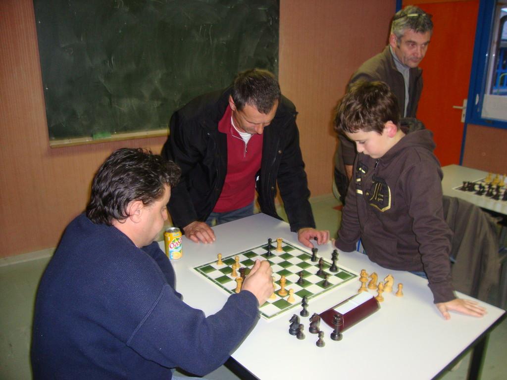 Yann, Mirzet et Will en pleine analyse !