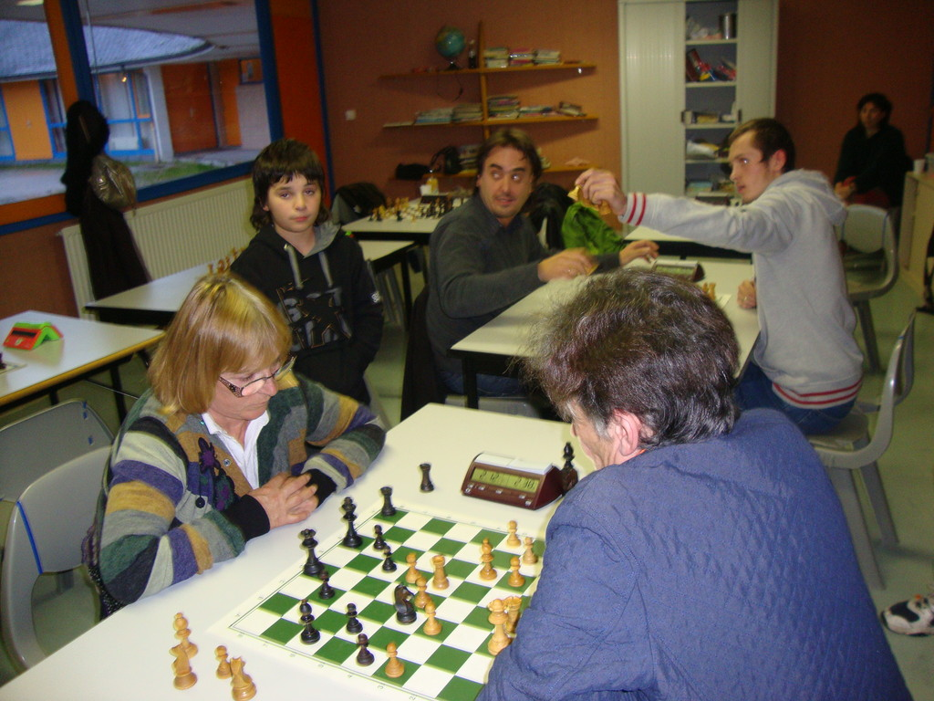 Lucienne et Josette au Tournoi Blitz 2011