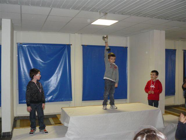 Clément 2ème départemental en 2012 ! Bravo Champion !