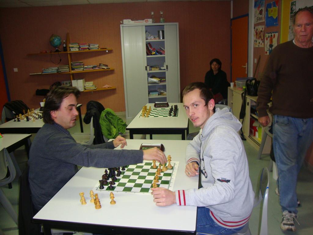 Laurent et Emmanuel au Tournoi Blitz 2011